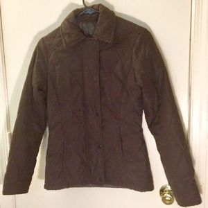 Barbour Jackets   Coats - Women s USA 4 brown quilted Barbour jacket 5fd18288f1
